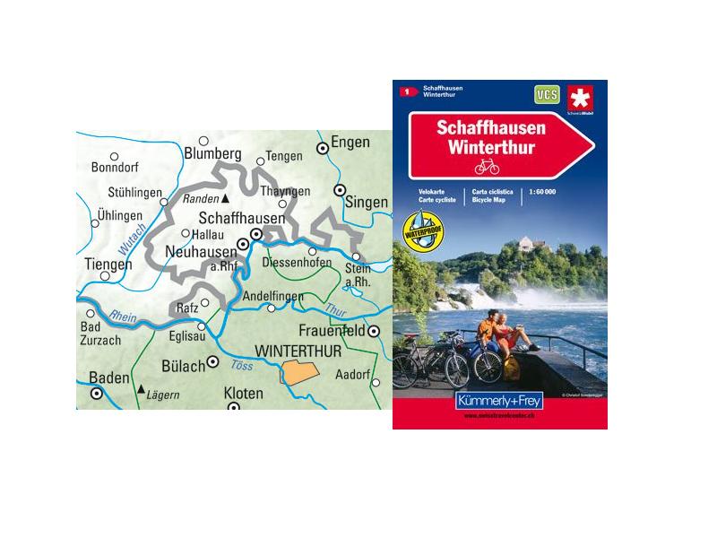 Kümmerli + Frey - Karte - Veloland