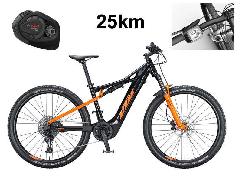 KTM - E-Mountainbike Fully - Macina Chacana 293