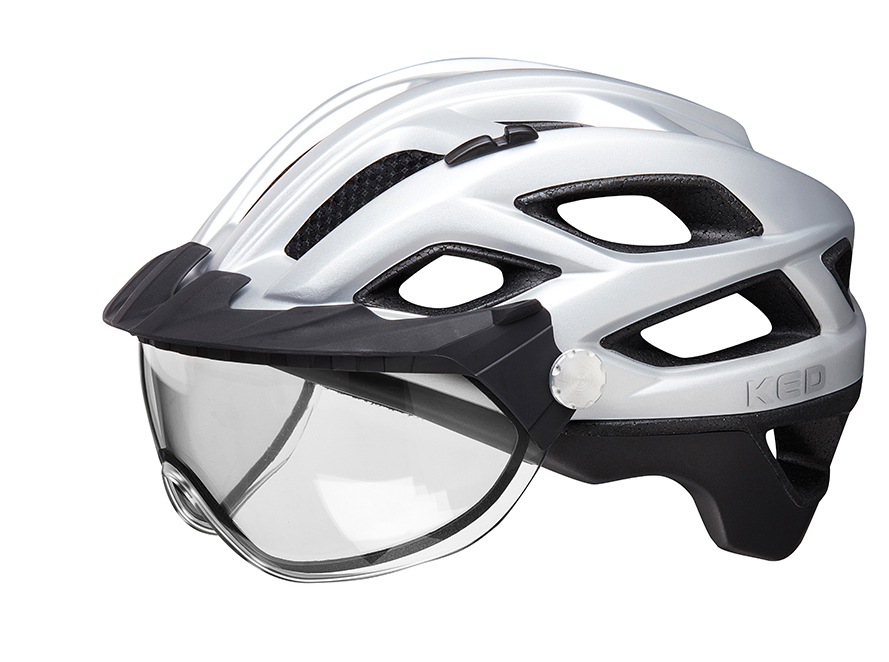 Ked - Helm - Cosiv mit Schutzbrille