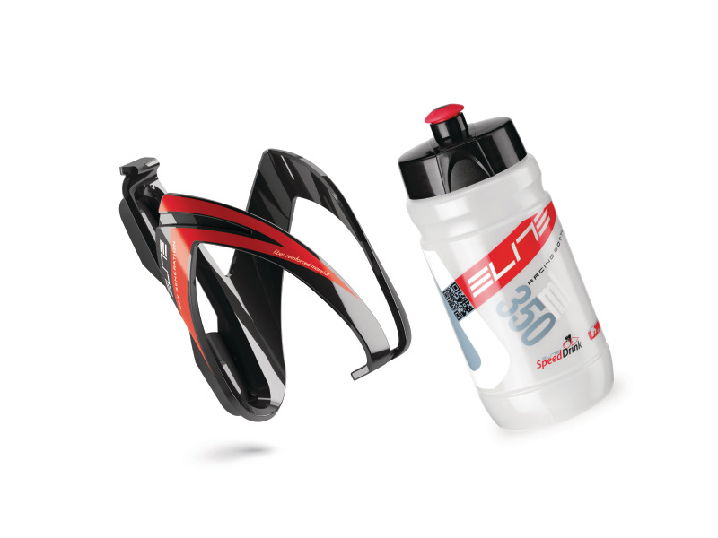 Elite - Bidonhalter + Flasche - Kit