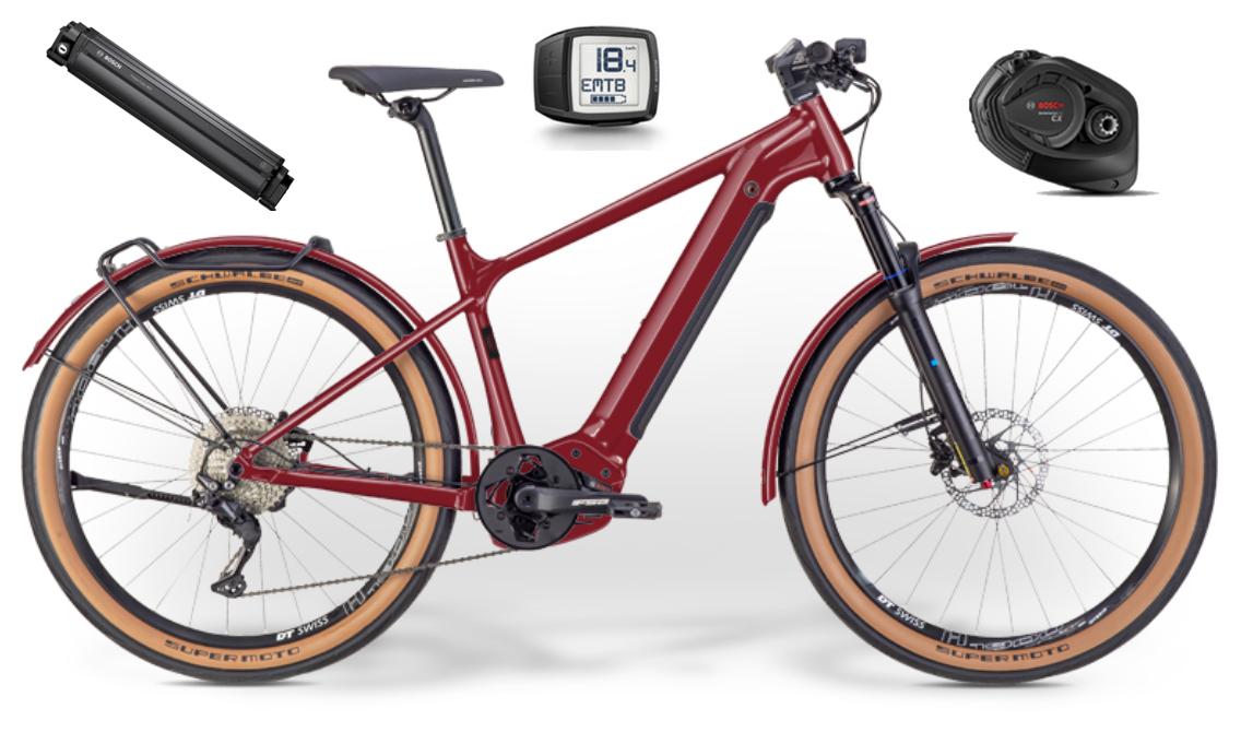 IBEX - E-Trekkingbike - eFatFrank Neo