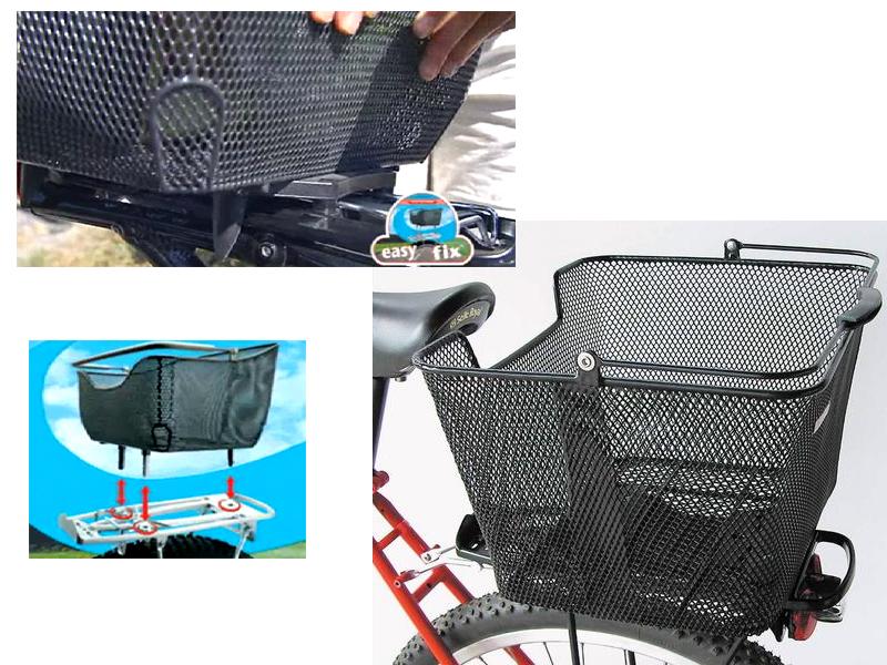 Gepäckträgerkorb - System Pletscher